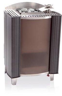 Электрические каменки, печь сауна EOS Bi-O Germanius 15,0 kW антрацит