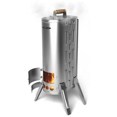 Печь-коптильня Термофор ДУПЛЕТ INOX