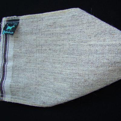 Мочалка для пилинга КЕСЕ 100% козья шерсть (жесткость : жесткая)