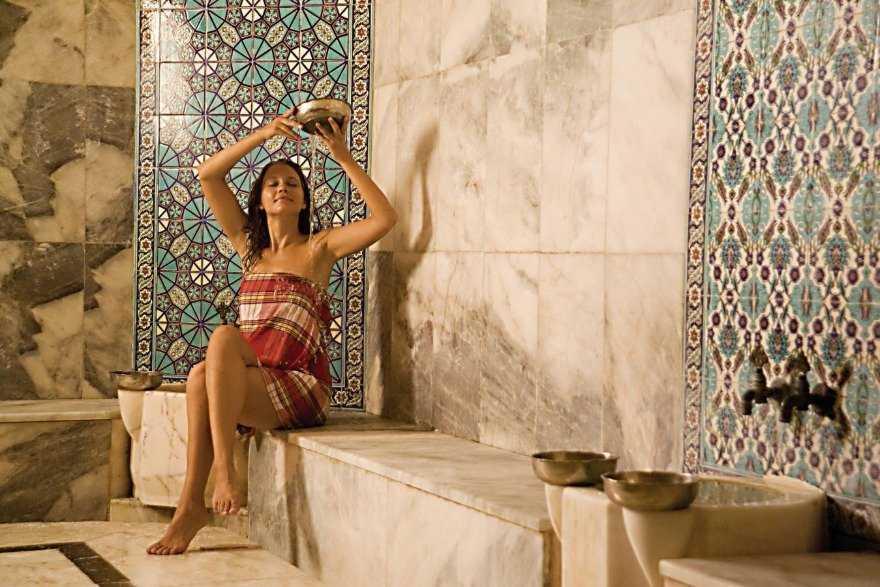 Турецкая баня хамам. Самобытность хаммам