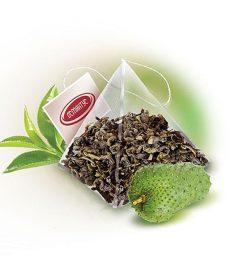 Чай Пирамидка «Саусеп зелений екстра» 50×2,5 г