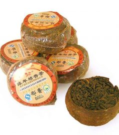 Чай Пу Эр «Мандарин» (1 шт — примерно 35-70 г)