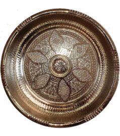 Чаша для омовения в хамаме хром
