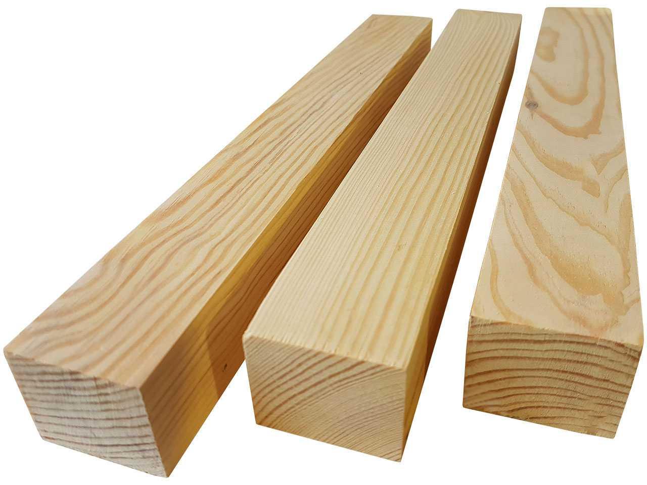 Деревянный брус монтажный 40x50 мм.