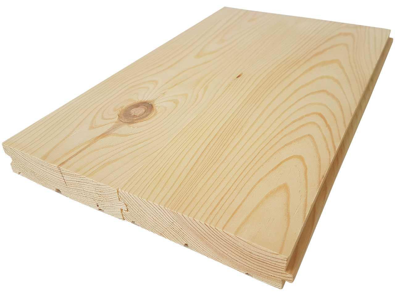 Доска пола цельная сосна, размер: 125/130x35x4500 мм.