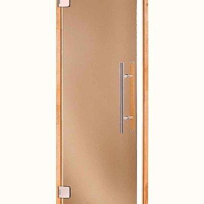 Дверь банная Andres PREMIUM 80×190, дверь сауна, двери для бани