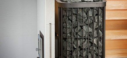 Электрические каменки, печь для сауны