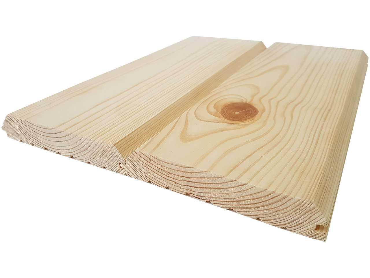Имитация бруса, фальшбрус из натуральной сосны 160x30 мм