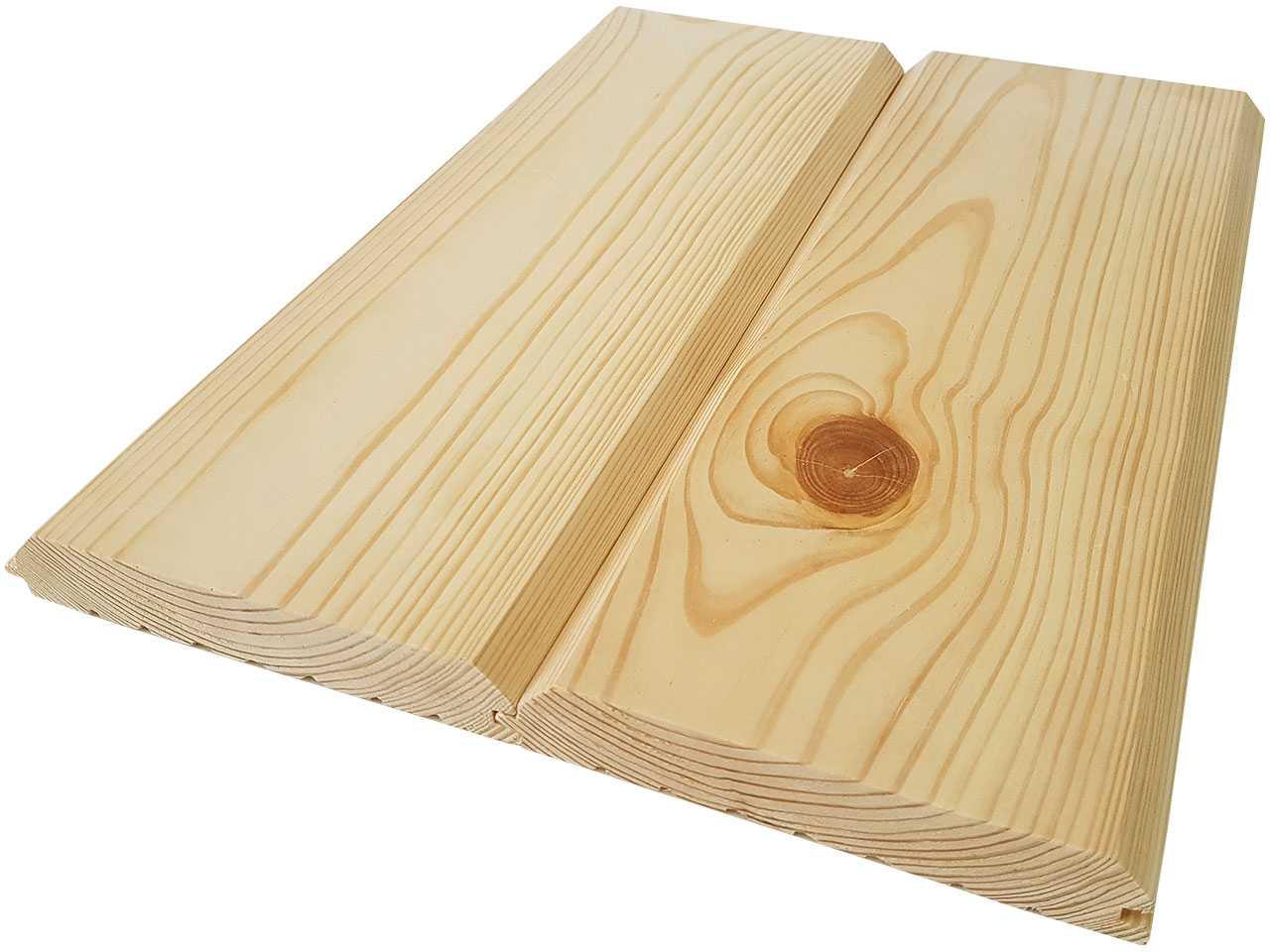 Фальшбрус, имитация бруса из дерева сосны 160x30 мм