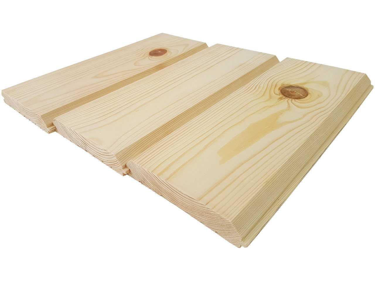 Фальшбрус, имитация бруса из сосны, сечением 160x30 мм