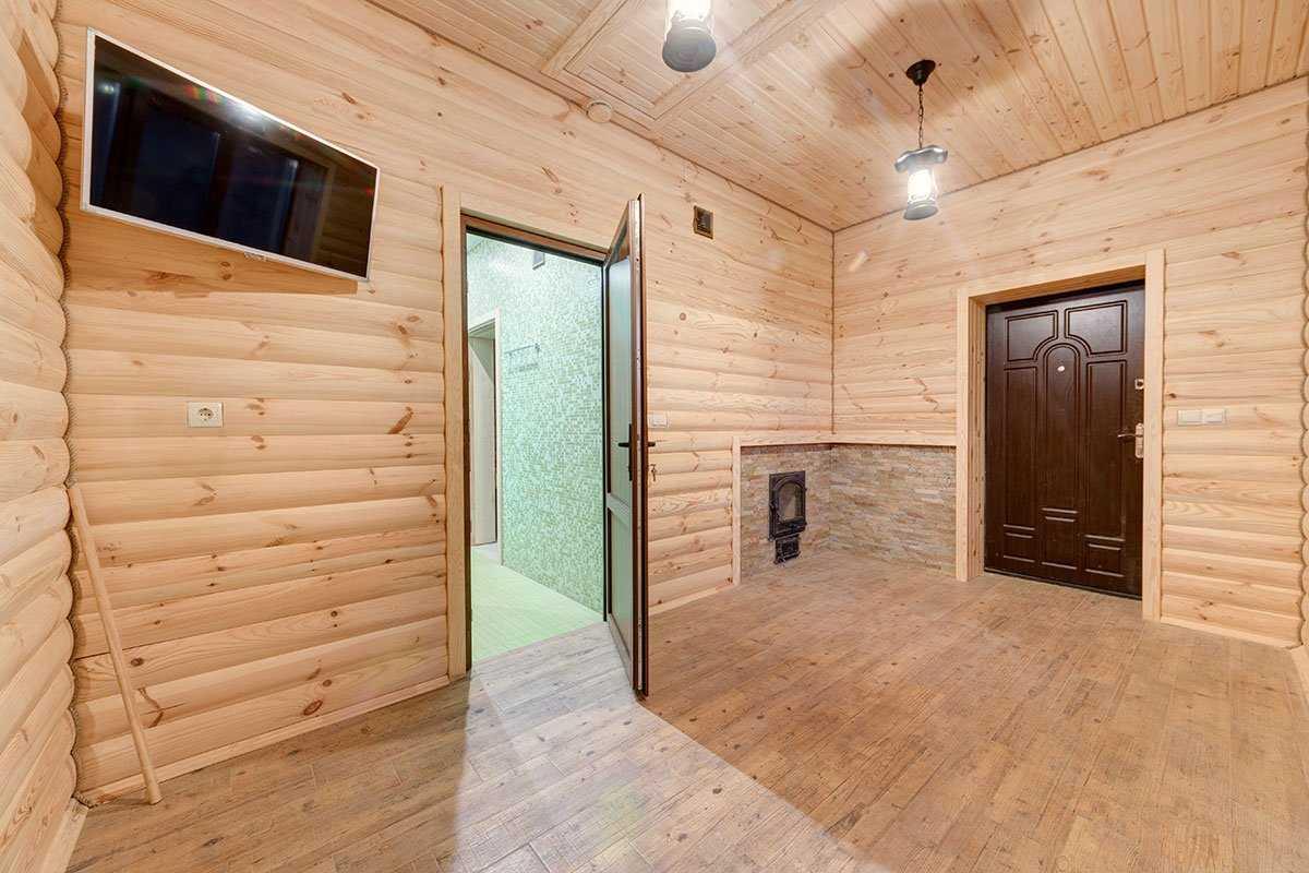 Фото бани под ключ в Белогородке
