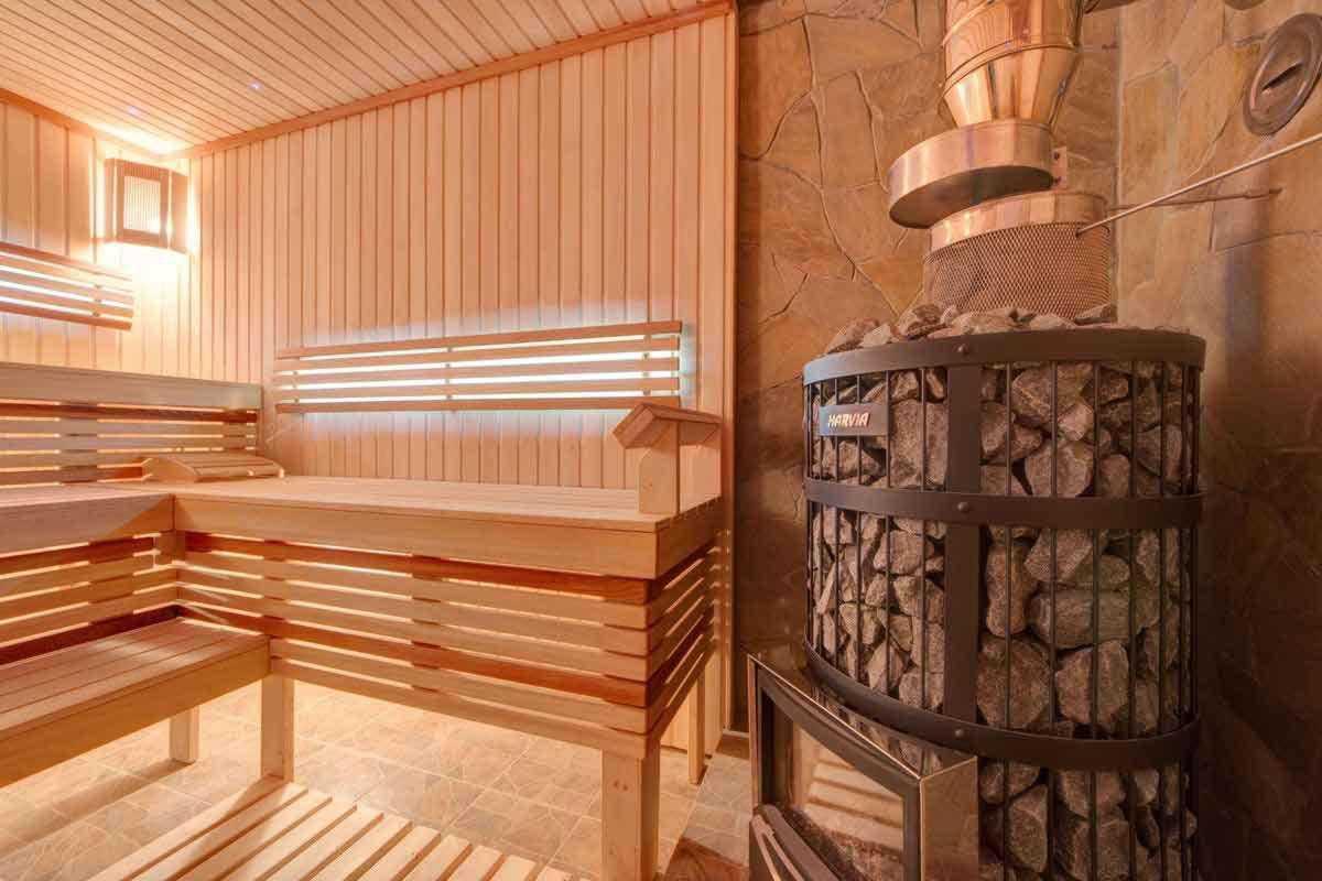 Фото дровяной бани под ключ в городе Львов