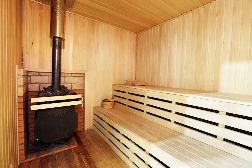 Дымоход дровяной печи бани