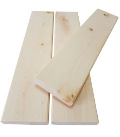Лежак из липы 1 сорт 90 х 24 мм.