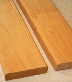 Полки для бани, лежак для сауны, брус ольха высший сорт 90x22x3000 мм.