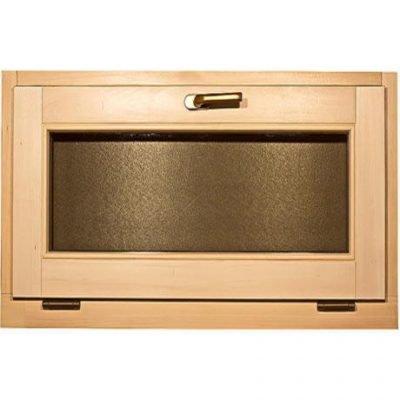 Окно для бани и сауны «откидное» 1000*500