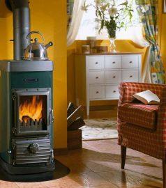 Печь камин Nordica SUPER JUNIOR, камин для дома или дачи