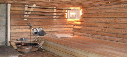 Внутренняя отделка бани: выбираем материалы