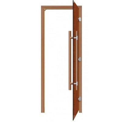 Стеклянная дверь сауны SAWO 341-3SGD, размер 69×189, баня дверь, дверь для душа