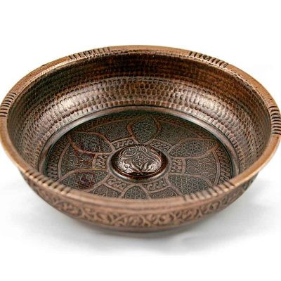 Тазик для хамама (бронза)
