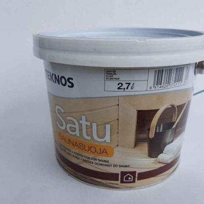 Защитное средство для деревянных поверхностей саун и бань Satu Saunasuoja 2,7 л, Teknos