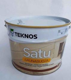Защитное средство для деревянных поверхностей саун и бань Satu Saunasuoja 9 л, Teknos