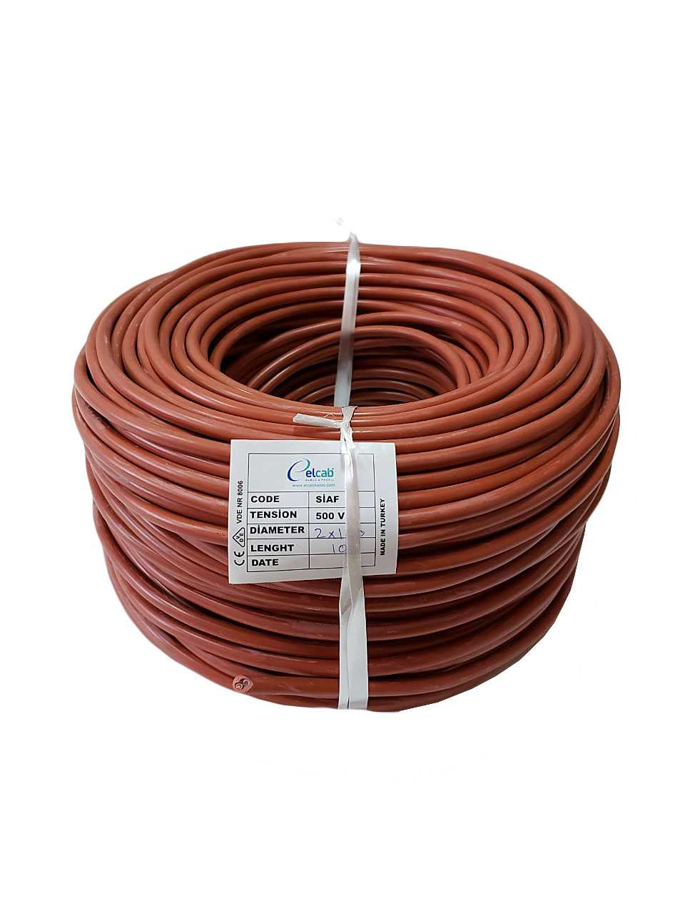 Термостойкий кабель, силиконовый