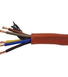 Термостойкий силиконовый кабель Ø 5 x 2,5 mm²