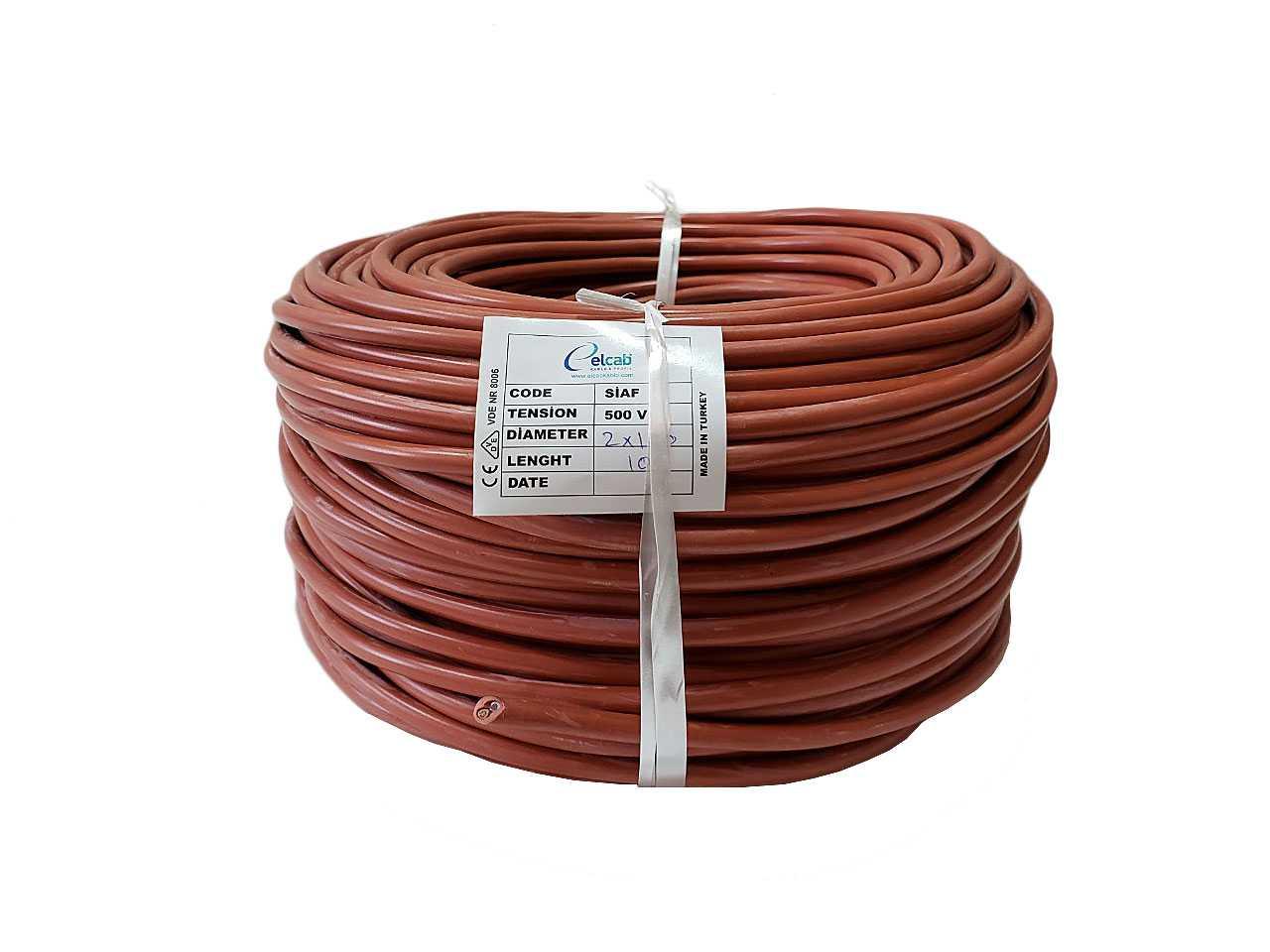 Термостойкий силиконовый кабель
