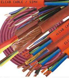 Силиконовые кабеля SIMH SILIKONE CABLE, RED CUPPER Ø 2 x 2,5 mm², термостойкий кабель RED CUPPER,  жаростойкий провод SILIKONE CABLE, электрические кабеля для бани и сауны SIMH SILIKONE CABLE, RED CUPPER