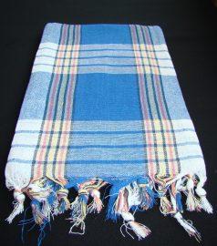 Полотенце для хамама * Классик * (цвет синий)
