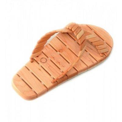Тапочки деревянные