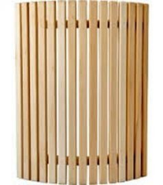 Ограждение для светильника кедр, светильник сауна