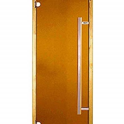 Дверь банная HARVIA с вертикальной ручкой 70×190, баня дверь, дверь сауна