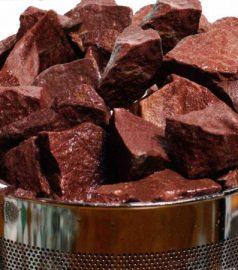Малиновый кварцит – камень для банных печей, камень для сауны, бани