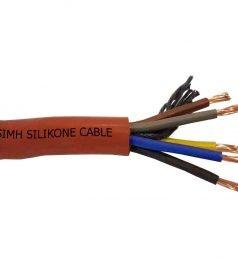 Термостойкий силиконовый кабель Ø 5 x 4 mm²