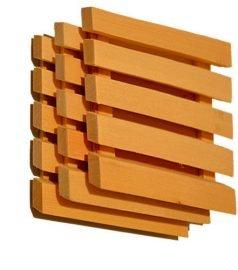 Вентиляционная решетка из липы