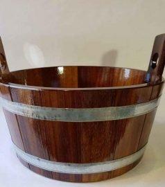 Запарник из камбалового дерева на 16 литров
