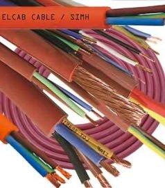 Силиконовый кабель SIMH SILIKONE CABLE, RED CUPPER Ø 2 x 0,75 mm², термостойкий кабель RED CUPPER,  жаростойкий провод SILIKONE CABLE, электрические кабеля для бани и сауны SIMH SILIKONE CABLE, RED CUPPER, силиконовая изоляция