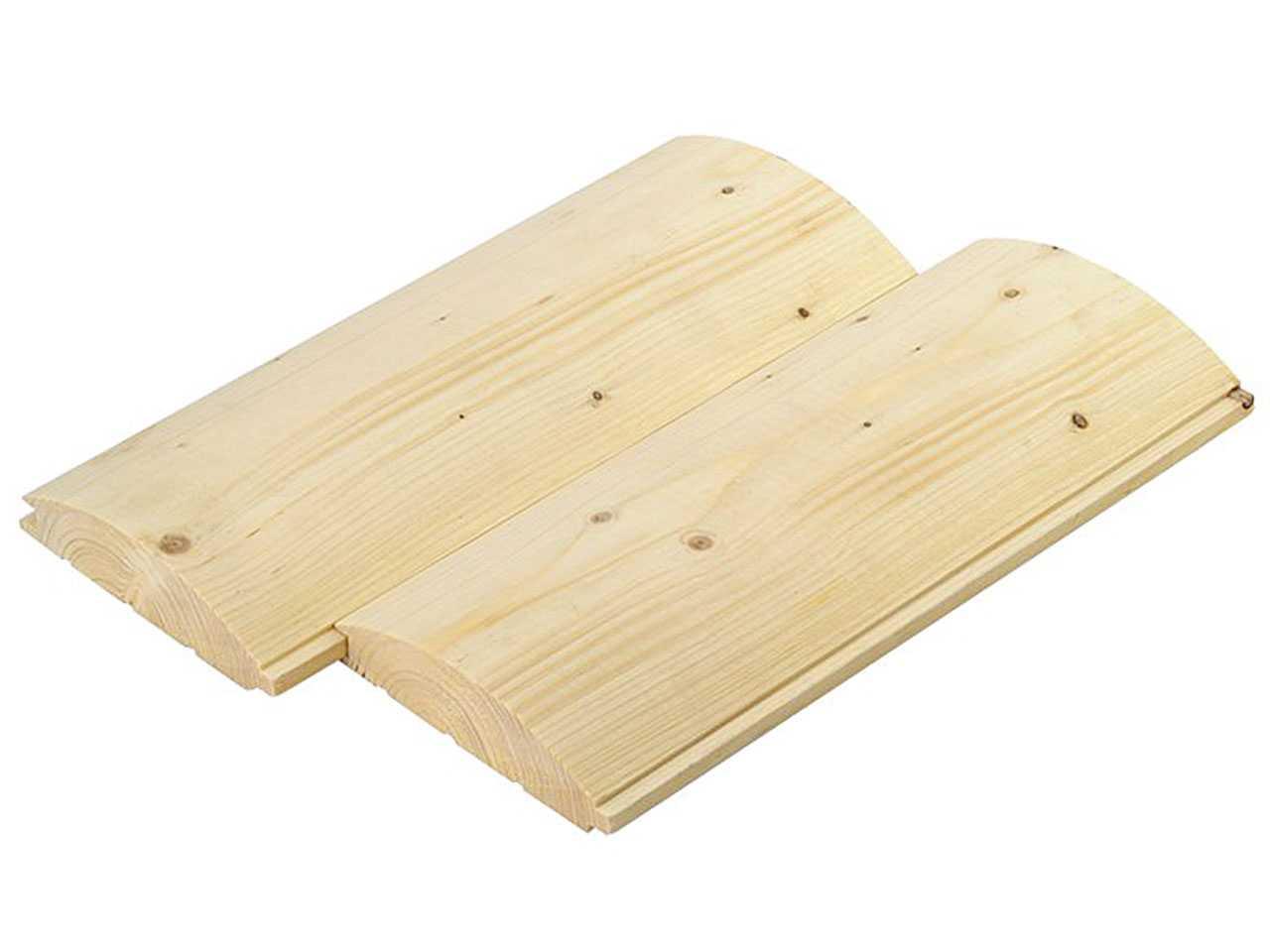 Блок-xаус из дерева сосна, ель 130x35x4,5 м