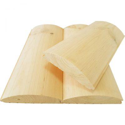 Блок-хаус сосна, ель 130х35х4,5м