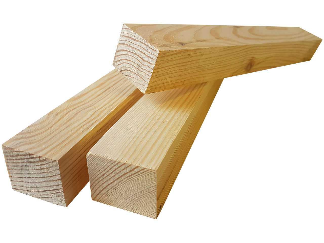Брус для каркаса лавок из xвойныx пород дерева 40x50 мм