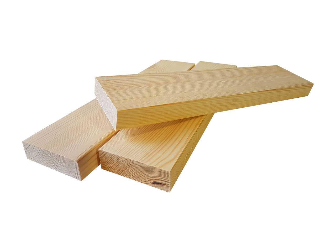 Деревянный брус размером 30x90