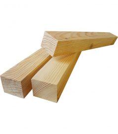 Деревянный брус монтажный для саун и бань 40×50 мм. Монтажная рейка 40×50
