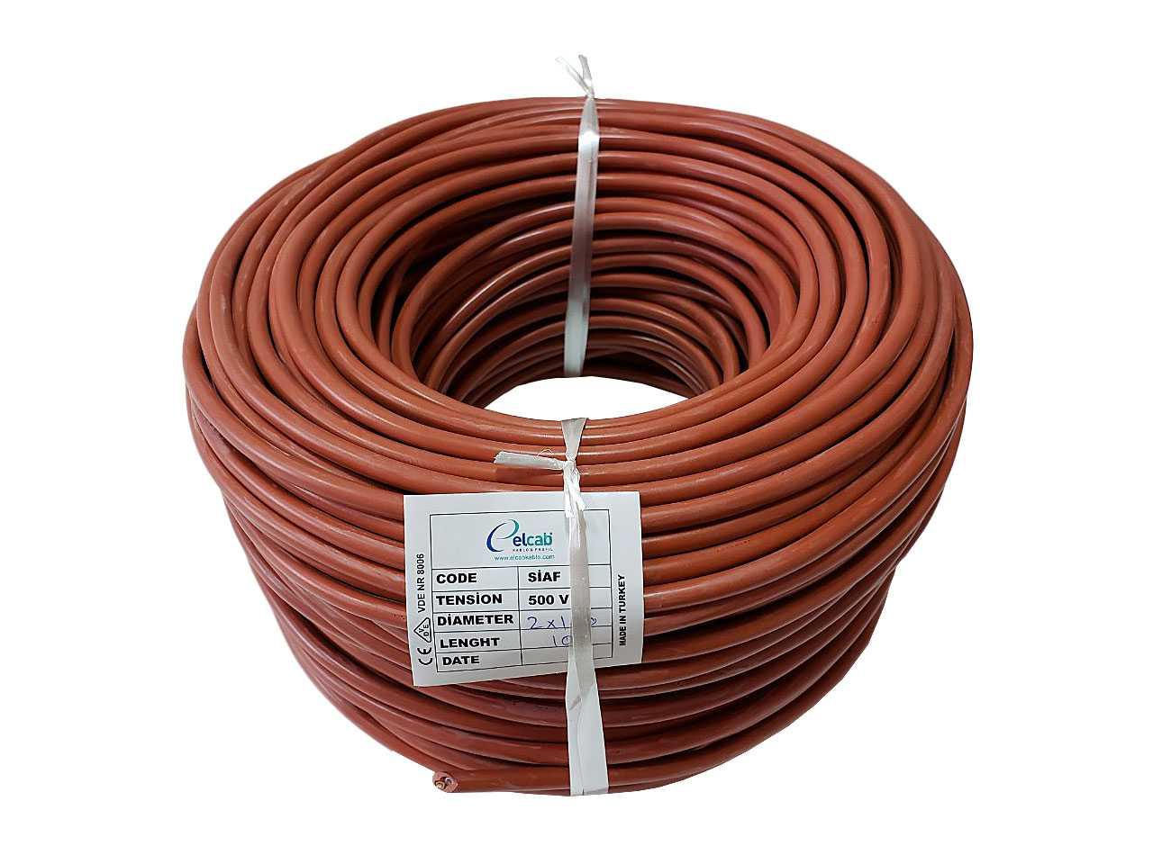Термостойкий провод, кабель силиконовый