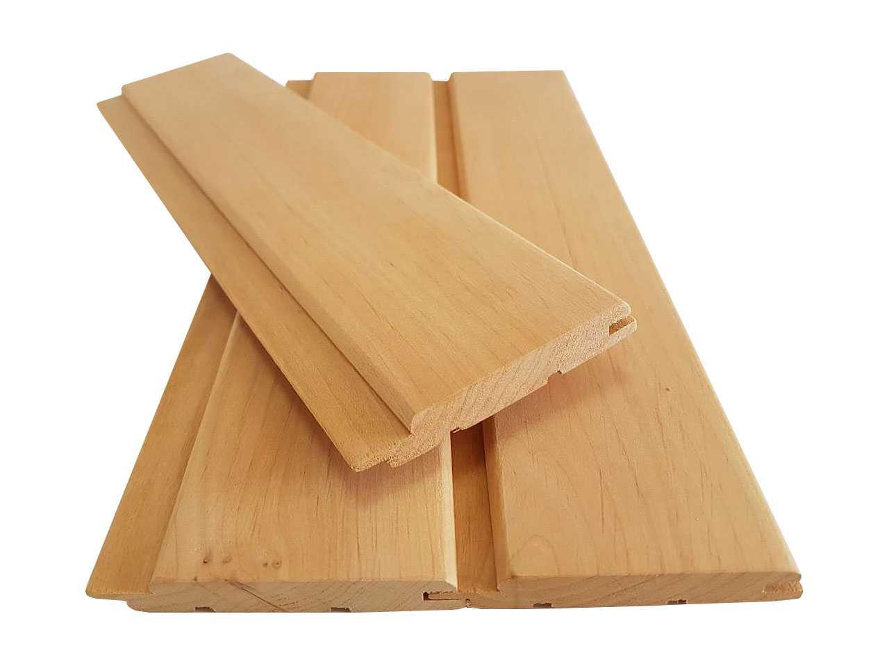 Вагонка ольха для обшивки стен в комнатах отдыха 80x15 в/с 0,9-1,9 мм.