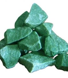 Камни для сауны и бани, жадеит колотый 20 кг (средний)