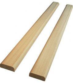 Притворная планка плинтус липа 35х15 мм.