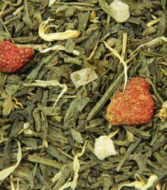 Зеленый ароматизированный чай Анабери