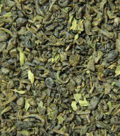 Зеленый ароматизированный чай Мятный